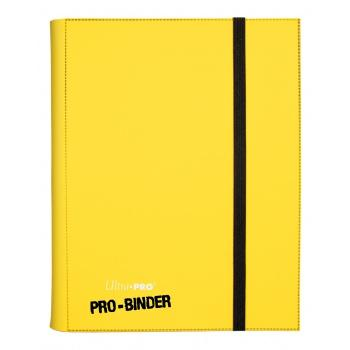 ULTRA PRO - Pro-Binder - 9 Pocket Portfolio - 360 Cards - Yellow