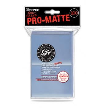 ULTRA PRO - Standard Deck Protector PRO-Matte Clear '100 Sleeves'