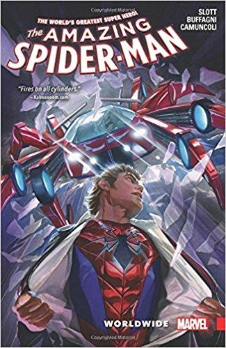 AMAZING SPIDER-MAN Vol 02 WORLDWIDE (UK)