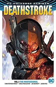 DEATHSTROKE Vol 01 THE PROFESSIONAL (UK)