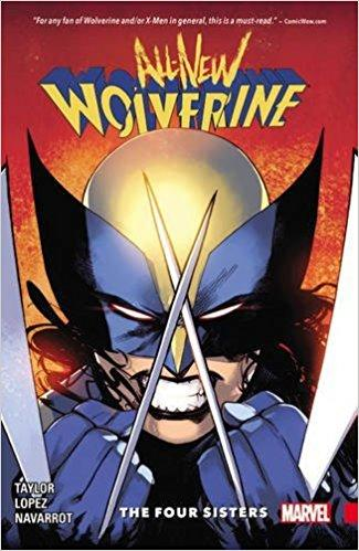 ALL NEW WOLVERINE Vol 01 FOUR SISTERS (UK)