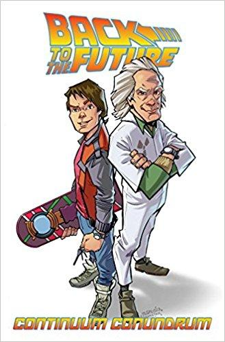 BACK TO THE FUTURE Vol 02 CONTINUUM CONUNDRUM (UK)