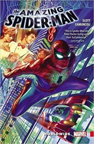 AMAZING SPIDER-MAN Vol 01 WORLDWIDE (UK)