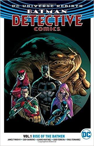 BATMAN DETECTIVE COMICS Vol 01 RISE OF THE BATMEN (UK)