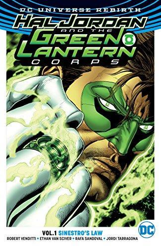 HAL JORDAN & GREEN LANTERN CORPS Vol 01 SINESTROS LAW