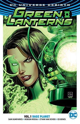GREEN LANTERNS Vol 01 RAGE PLANET (UK)