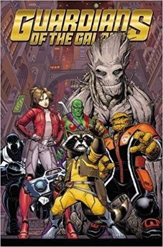 GUARDIANS OF GALAXY NEW GUARD Vol 01 EMPEROR QUILL (UK)