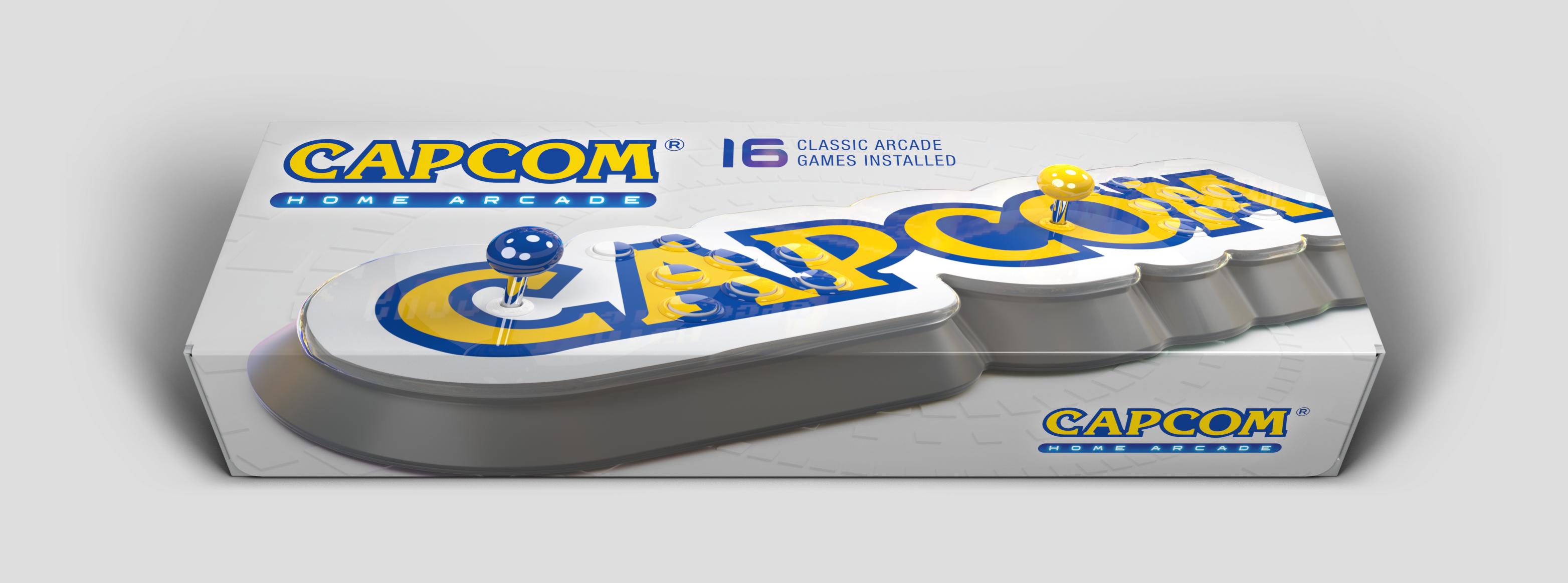 CAPCOM HOME ARCADE – (16 GAMES INCLUDED)