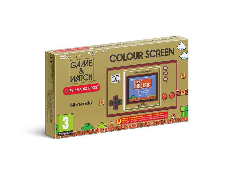 Console Game & Watch Super Mario Bros System - Limited Edition_1
