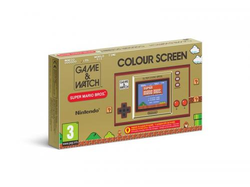 Console Game & Watch Super Mario Bros System - Limited Edition