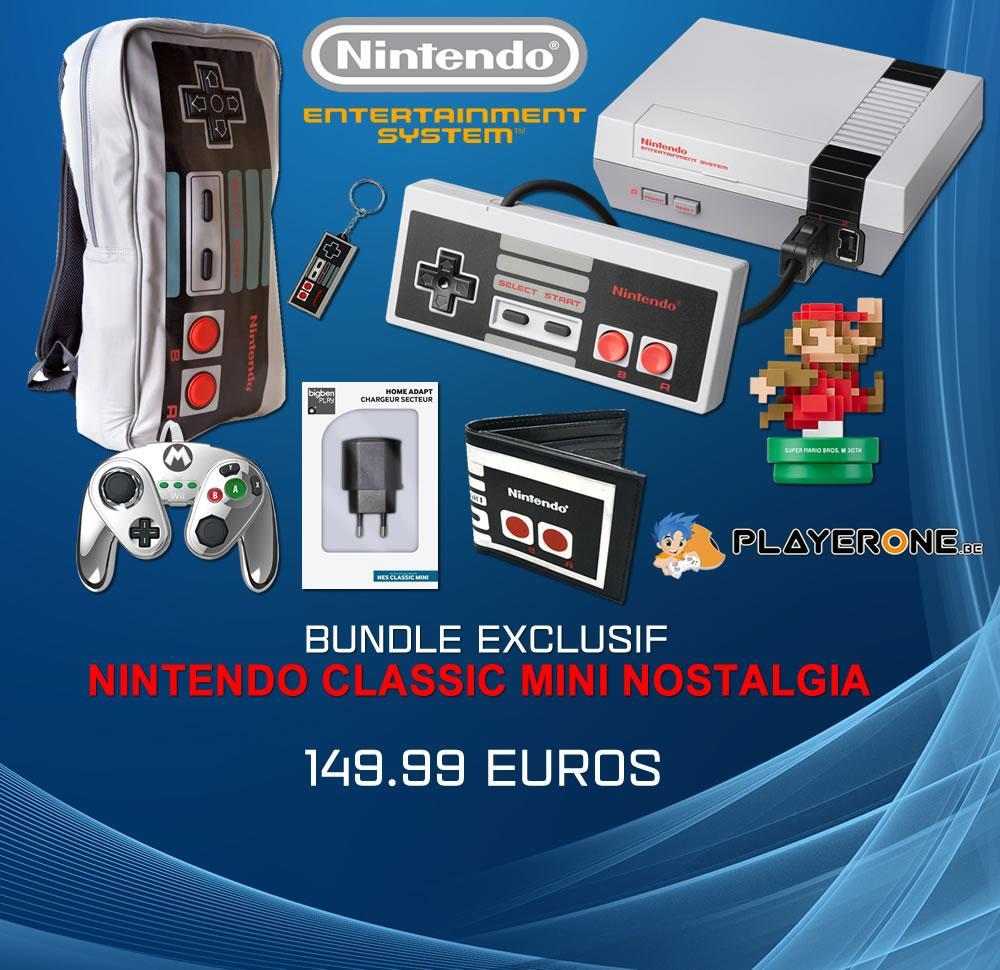 Console Mini NES (NINTENDO CLASSIC) - NOSTALGIA PACK_1