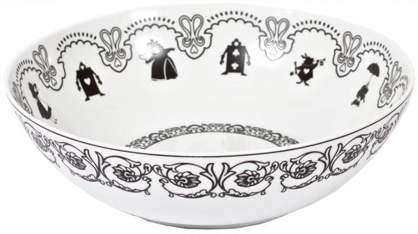 DISNEY - ALICE - Saladier Bas 'Porcelaine'