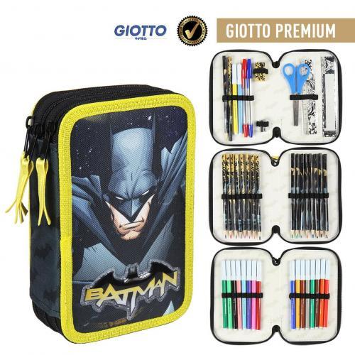 DC COMICS - Batman - Trousse Triple Tirettes - Premium
