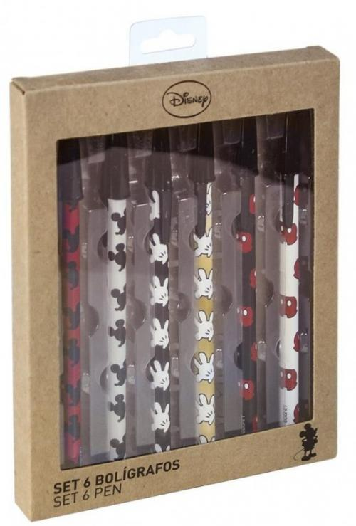 DISNEY - Set de stylos à bille - Mickey
