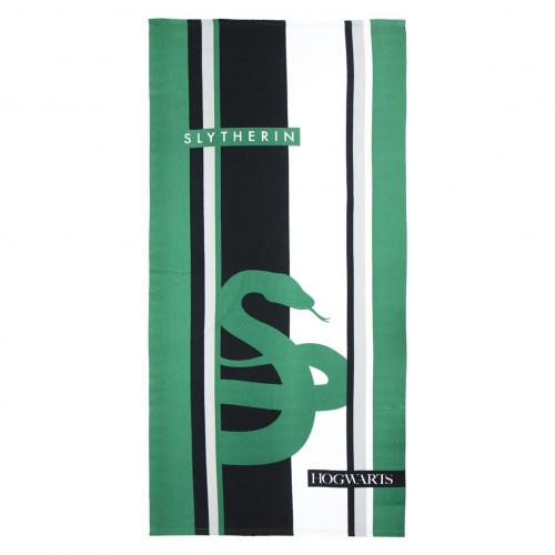 HARRY POTTER - Serviette de Bain 90 X 180 - Slytherin