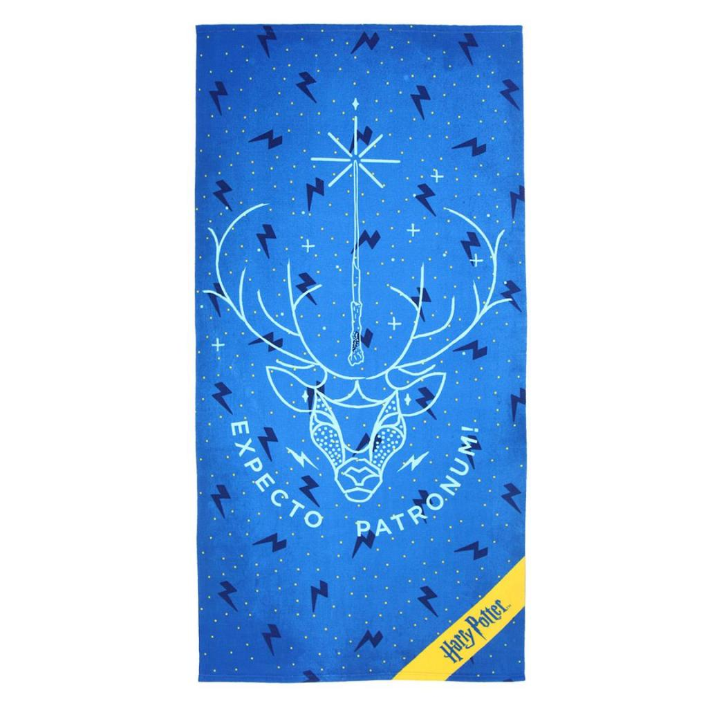 HARRY POTTER - Serviette de Bain 90 X 180 - Expecto Patronum