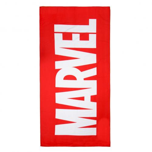 MARVEL - Serviette de Bain 90 X 180 - Logo