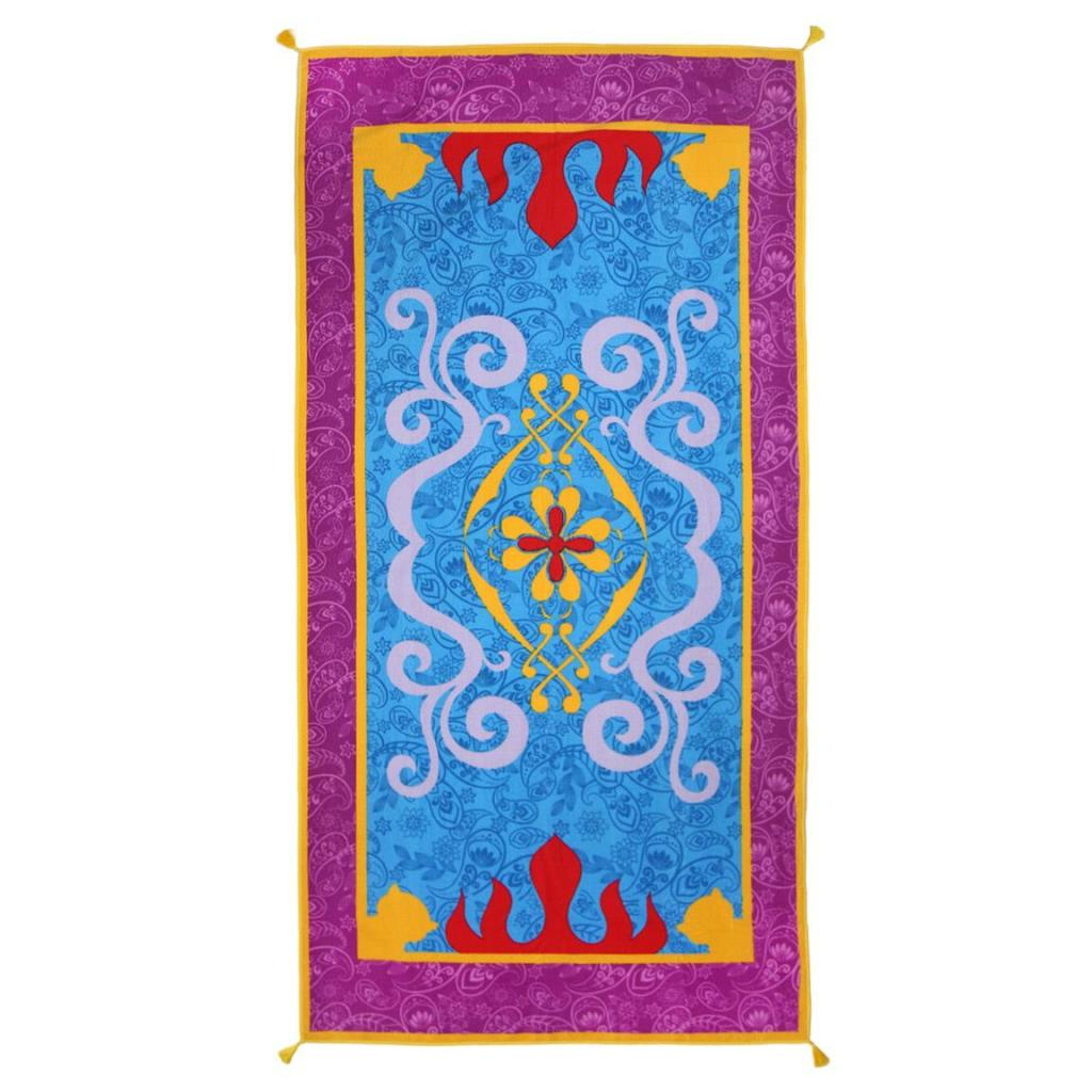 DISNEY - Serviette de Bain 90 X 180 - Aladdin Magical Carpet