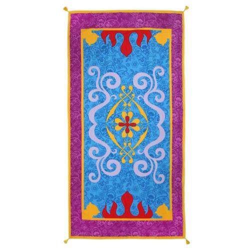 DISNEY - Serviette de Bain 90 X 180 - Aladdin Magical Carpet