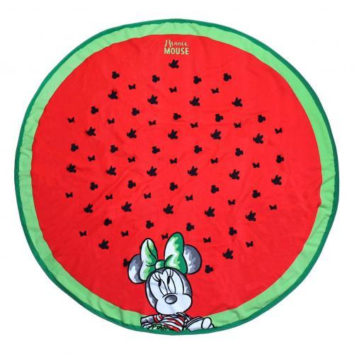 DISNEY - Serviette de Bain Rond 130cm - Minnie
