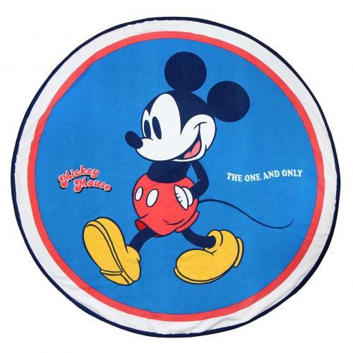 DISNEY - Serviette de Bain Rond 130cm - Mickey
