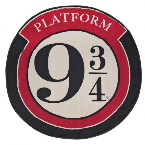HARRY POTTER - Serviette de Bain Rond 130cm - Platform 9 3/4