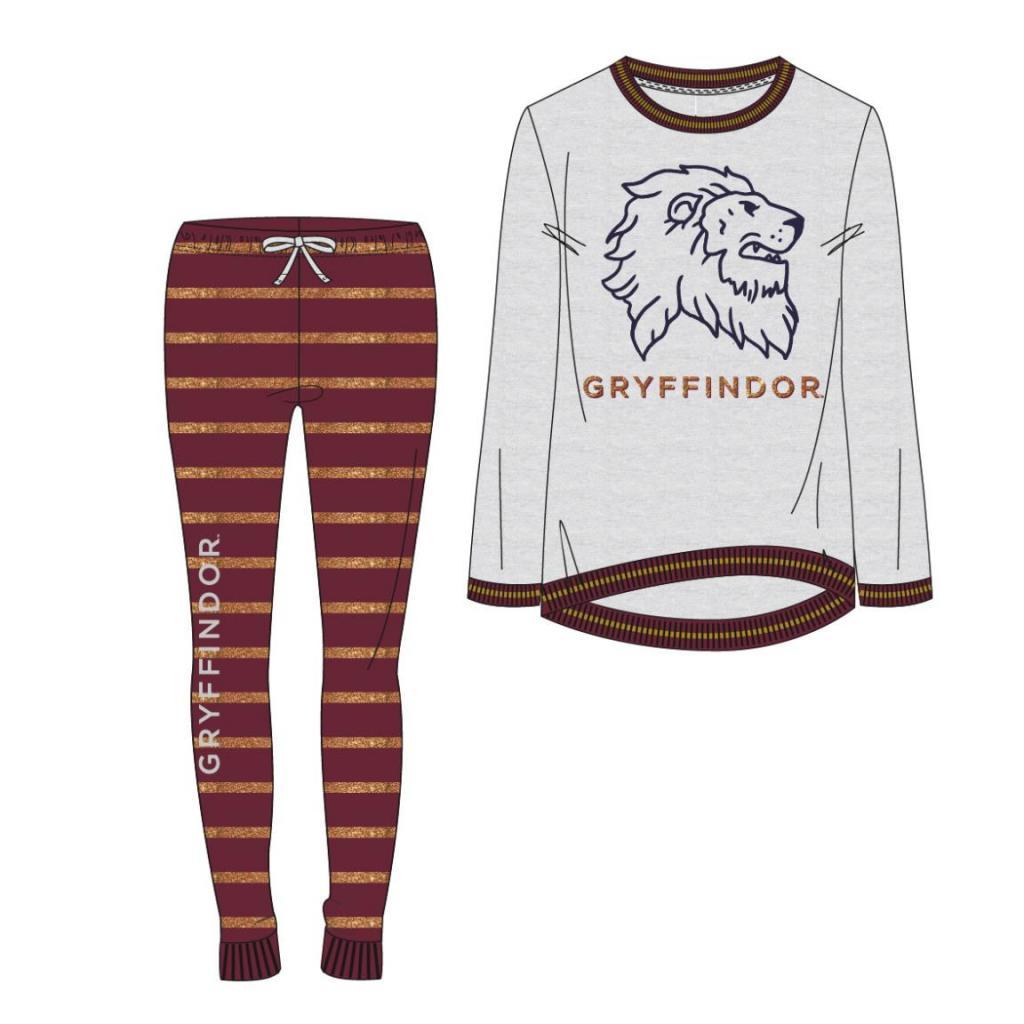 HARRY POTTER - Gryffondor - Pyjama Jersey - 8 ans