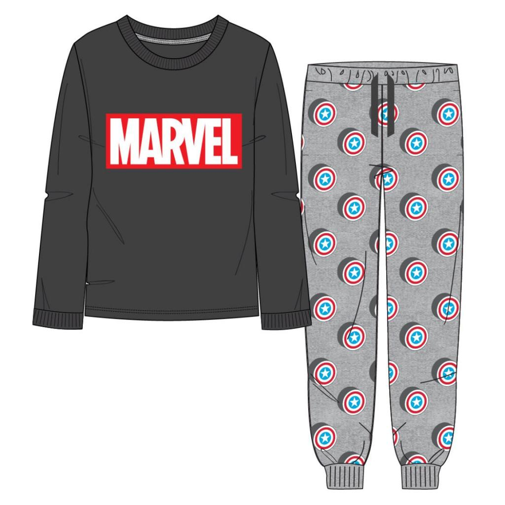 MARVEL - Pyjama Long Interlock - Avengers - M
