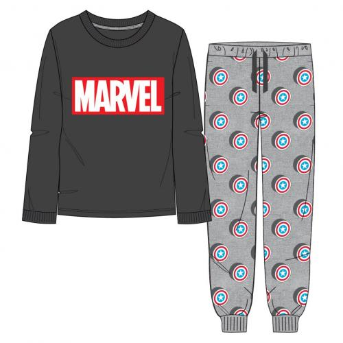 MARVEL - Pyjama Long Interlock - Avengers - XXL