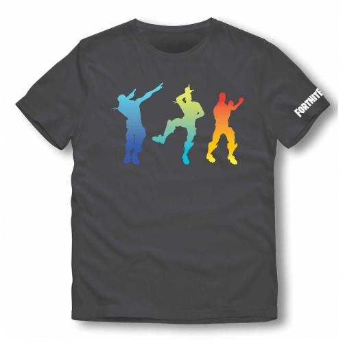 FORTNITE - T-Shirt Kids Color Fresh Dance (10 ans)