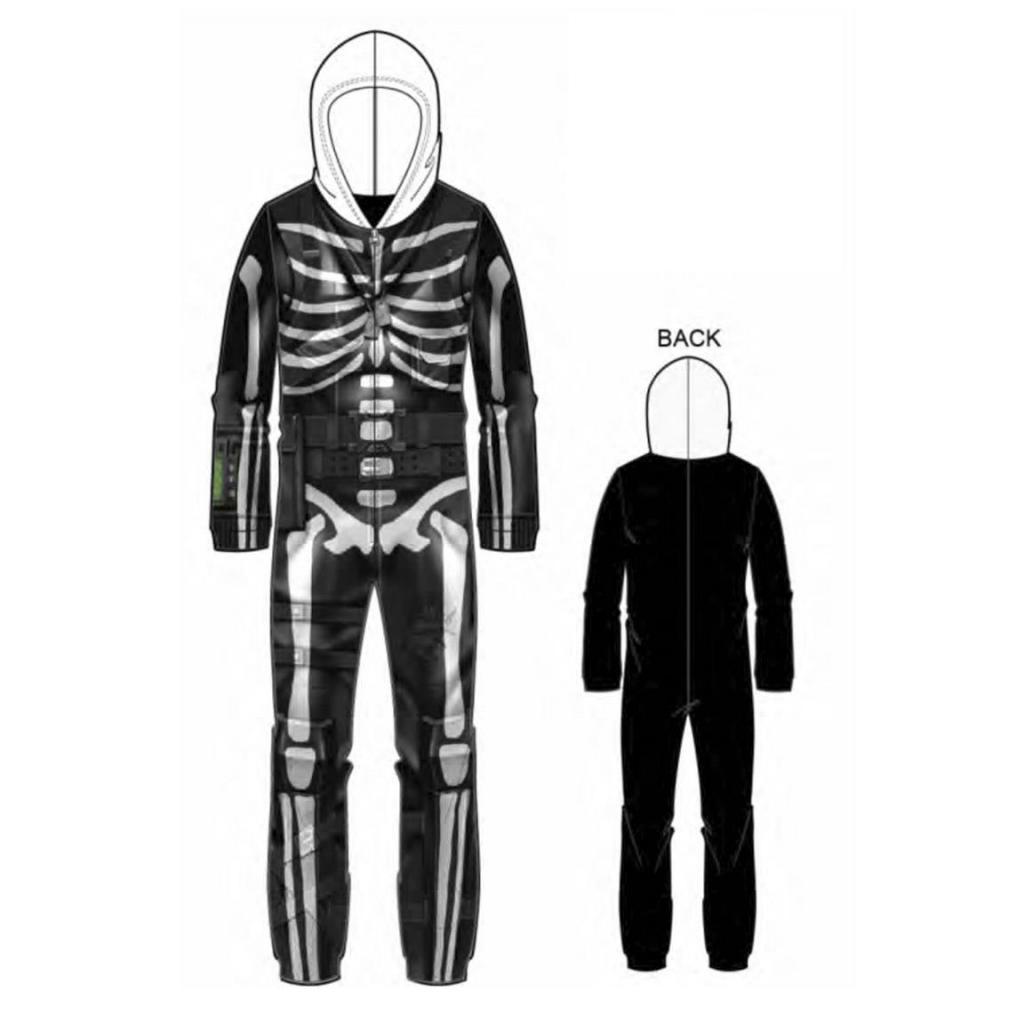 FORTNITE - Onesie Pyjama Dressup - Halloween (12 ans)