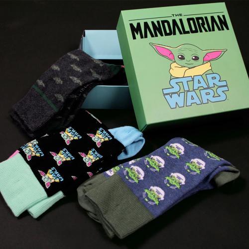 STAR WARS - The Child - Pack de 3 paires de chaussettes (P40-46)