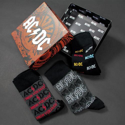 ACDC - Pack de 3 paires de chaussettes (P35-41)
