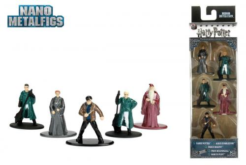 HARRY POTTER - Diorama Nano Metalfigs - Pack 5 figurines Serie 2
