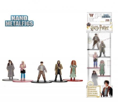 HARRY POTTER - Diorama Nano Metalfigs - Pack 5 figurines Serie 4