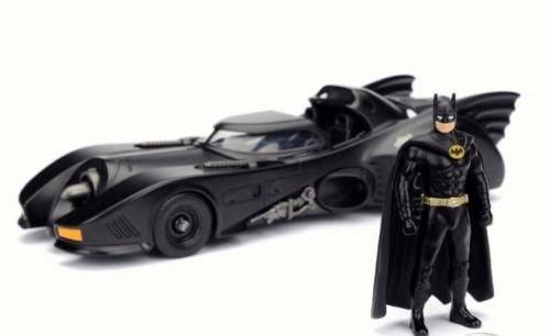 DC COMICS - Batman 1989 Batmobile 1:24