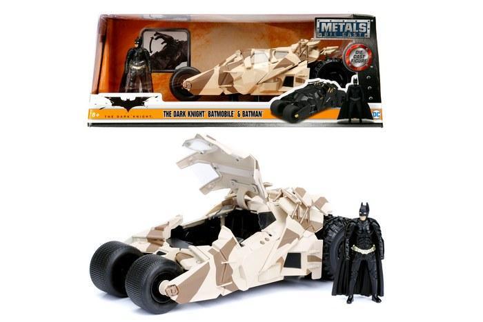 DC COMICS - Batman Tumbler Batmobile Camo 1:24_1