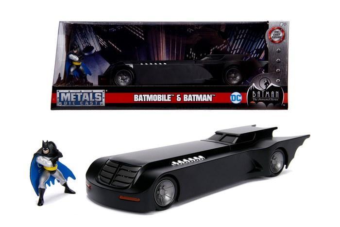 DC COMICS - Batman Animated Series Batmobile 1:24_1