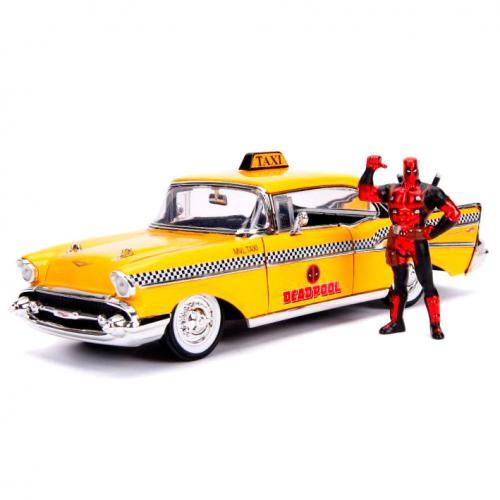 MARVEL - Deadpool Yellow Taxi 1:24