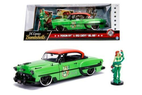 DC COMICS - Bombshells Poison Ivy 1953 Chevy Bel Air - 1:24