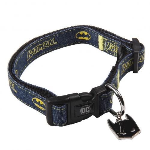 BATMAN - Collier chien - XXS (Longueur 18-30cm - Largeur 1.5cm)