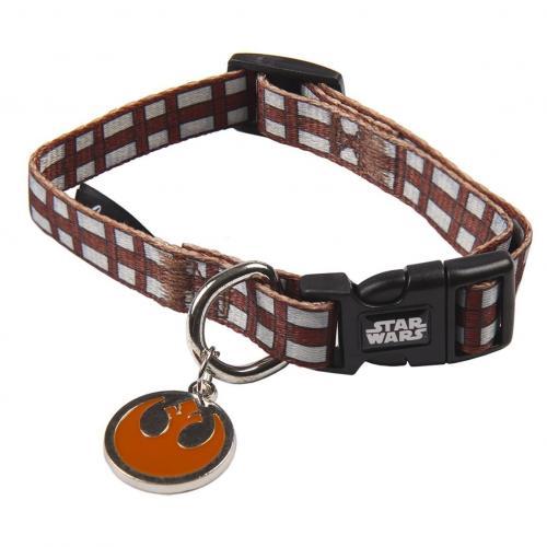 CHEWBACCA - Collier chien - XS (Longueur 22-35cm - Largeur 1.5cm)