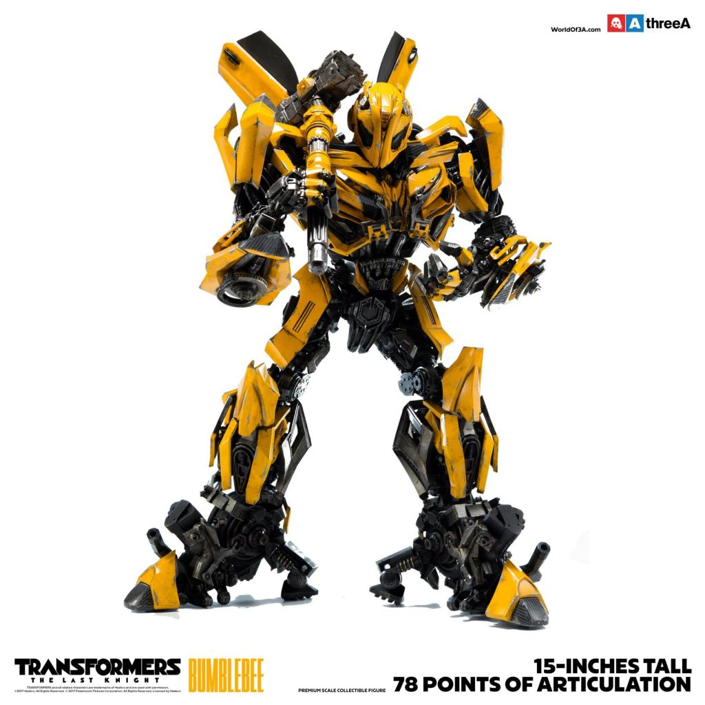 TRANSFORMERS The Last Knight - Bumblebee Figure - 38cm