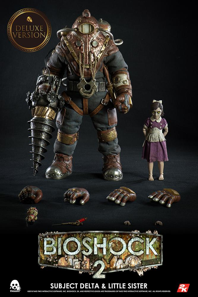 BIOSHOCK 2 - Subject Delta & Little Sister 1:6 Scale Figure DELUXE