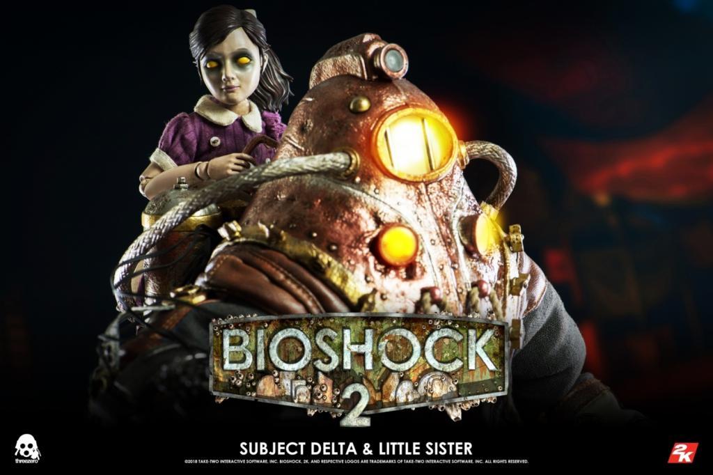BIOSHOCK 2 - Subject Delta & Little Sister 1:6 Scale Figure DELUXE_4