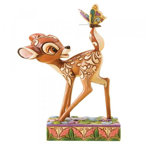 DISNEY Traditions - Bambi Wonder of Spring Figurine - 12cm