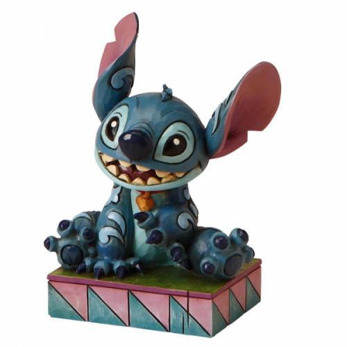 DISNEY Traditions - Stitch Ohana Means Figurine - 9.5cm