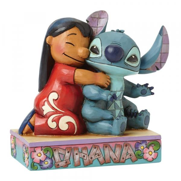 DISNEY Traditions - Lilo & Stitch Ohana Means Figurine - 12.5cm