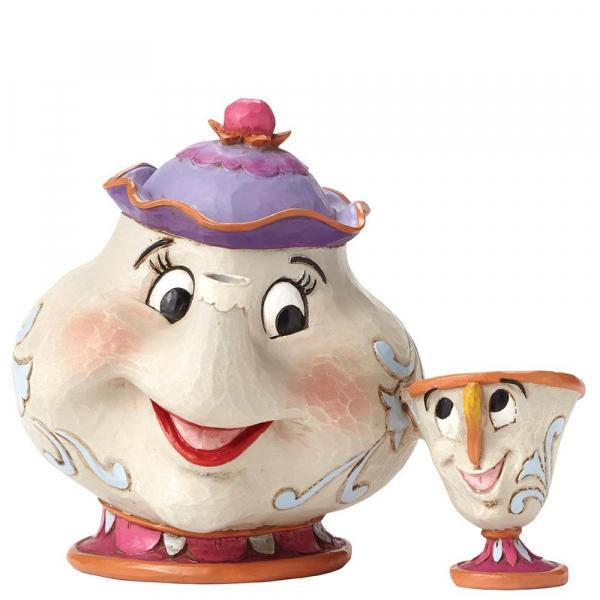 DISNEY Tradition - Mrs Potts & Chip A Mother's Love - 12.5cm
