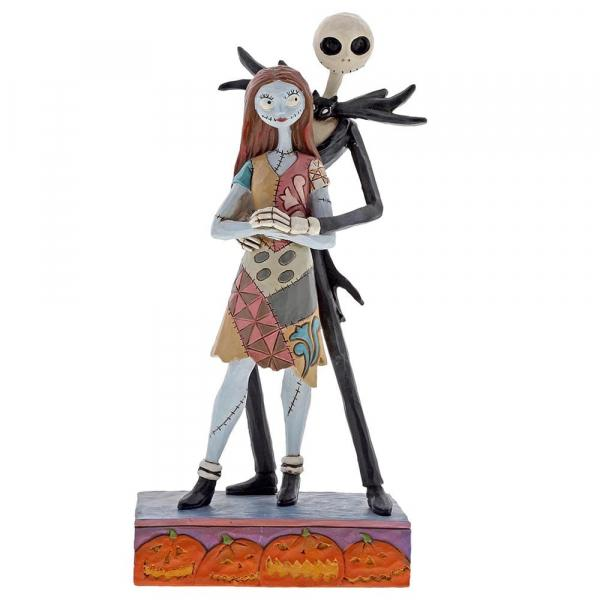 DISNEY Tradition - NBC - Jack & Sally Figurine - 22cm